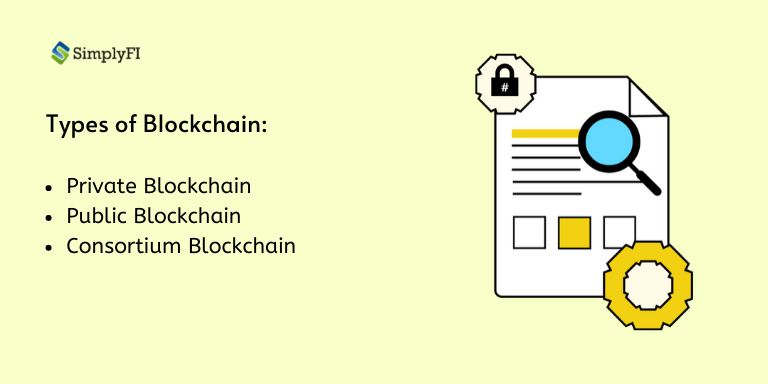 types of blockchain, SimplyFI blogs
